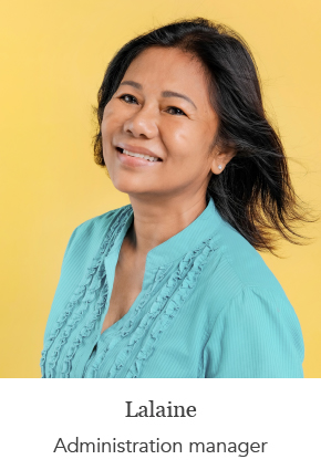 Lalaine - Administration manager
